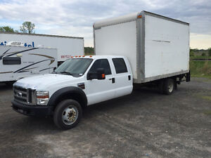 WOW! Camion cube Ford F550 XLT SuperDuty Crew Cab Diesel