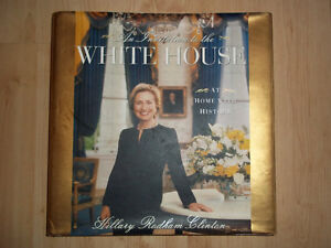 Signed Hillary Rodham Clinton, An Invitation to the Whitehouse