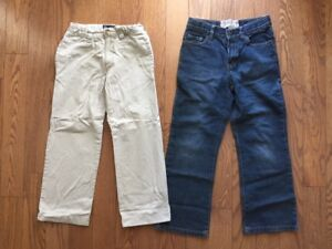 CHILDREN'S PLACE BOY'S JEANS AND KHAKIS SIZE 7 NEW