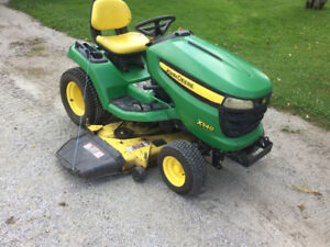 John Deere x 540 lawn tractor