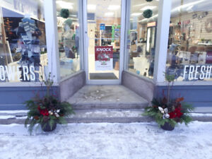 Busy Flower Shop in Innisfail for Sale!