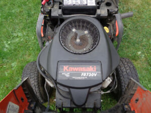 looking for a ride on mower that needs an engine