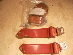 1965 Dodge coupe seat belts