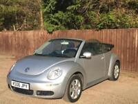 2006 Volkswagen Beetle 1.4 Luna Cabriolet 2dr