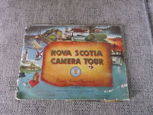 "RARE 1940-50's ""Nova Scotia Camera Tour Book"""