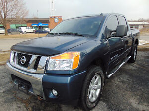 2014 NISSAN TITAN SV 4X4, 5.6L V8,ONE OWNER,CLEAN AUTO CHECK REP