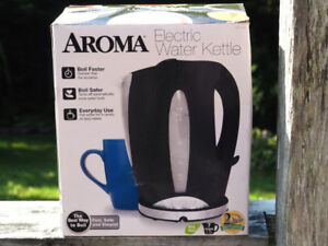 New Aroma Electric Water Kettle