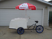 ICE CREAM BICYCLE BUSINESS