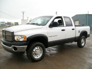 READY TO GO!! 2005 DODGE RAM 2500 4X4 CREW CAB CUMMINS $6500!!