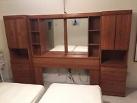 Bed room storage
