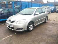 2006/56 Toyota Corolla 1.6 VVTI COLOUR COLLECTION SH SPARE KEY 2 OWNER