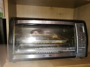 Black decker conventional toaster oven