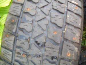 205/55/r16 studded  tires  FOR SALE