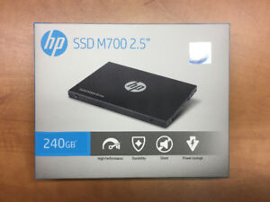 HP 240GB Solid State Drive SSD Hard Drive - Brand New Sealed