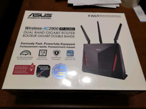 Asus AC2900 AC86U Dual Band Router - Brand New