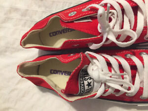 Red Converse Brand new