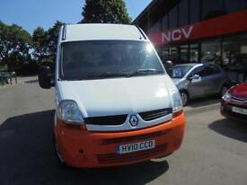 2010 RENAULT MASTER MM33dci 100 Extra Medium Roof Van