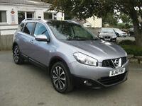 2011/61 Nissan Qashqai+2 2.0 dCi N-TEC 4WD 5dr SatNav~Pano Roof~7 Seats.