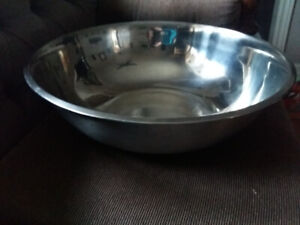 Industrial Stainless Steel Mixing Bowl