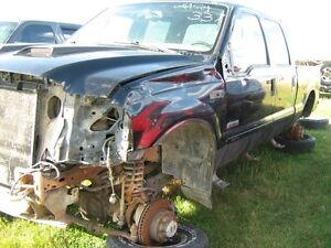 1999-2007 Black Ford F-350 crew cab body parts