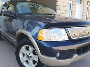 03 Ford Explorer EDDIE BAUER, 4X4, LEATHER, 7seat - FULLY LOADED Moose Jaw Regina Area image 1