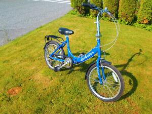 schwinn folding bicycle