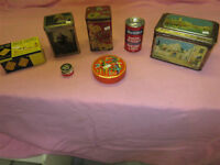COLLECTION OF GRAMPS ESTATE TINS