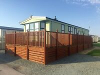 Static caravan for sale ocean edge holiday park Lancaster Morecambe 12 month season 5 * facilities