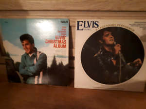 ELVIS CHRISTMAS ALBUM AND PITURE ALBUM