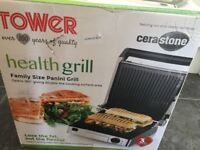 Tower Panini Health Grill Family Sized