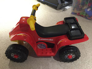 BRAND NEW! Power Wheels Kawasaki Lil' Quad WITH Track
