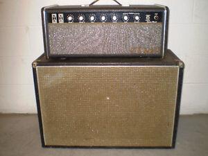 Traynor YSR-1 head and Fender V.T. Bassman 15 speaker