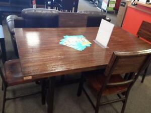 *** USED *** ASHLEY RIGGERTON 5PC DINETTE   S/N:51231418   #STORE223