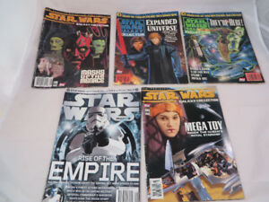 Star Wars Galaxy Collector Magazine Lot