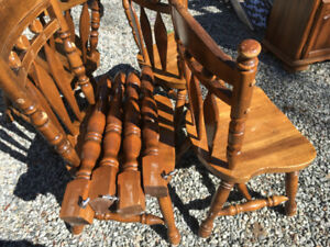 Chairs - Sturdy as rock