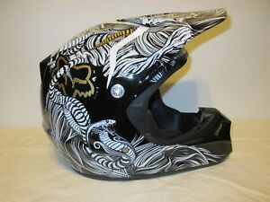 "FOX V3 Pilot - Motocross Helmet ""Antiscene"""