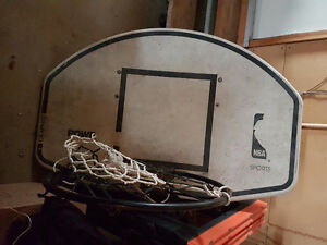 Basketball hoop system
