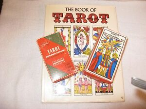 TAROT book, and two boxes of tarot cards Cornwall Ontario image 1