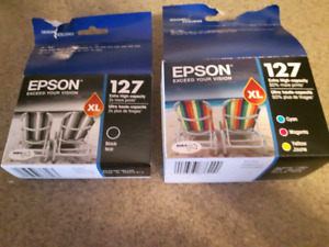 Epson 127 Black and Colors Ink