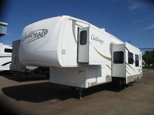 2007 Keystone Challenger Fifth Wheel 34BHQ 4 Slides BunkHouse