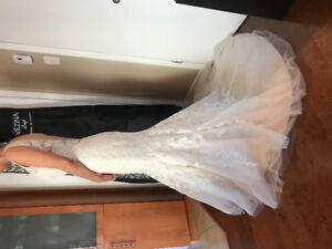Robe de mariée à vendre 450$