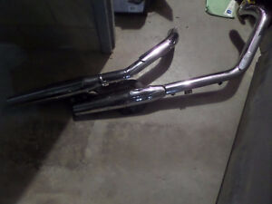 Stock Pipes for Honda Shadow 1100 (95-07)