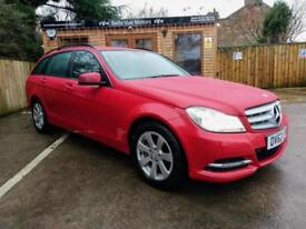 **NEW YEAR SALE**62 REG MERCEDES-BENZ C220 2.1CDI ( 168bhp ) EXECUTIVE SE IN RED