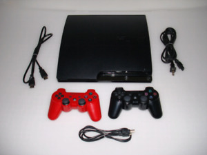 PlayStation 3, PS3 Slim With 55 Games!