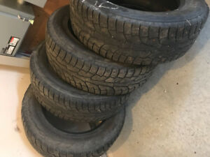 LT275/65R20 pneus hiver à clous Hankook