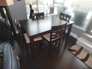 Bistro Styled Dining Room Table Set