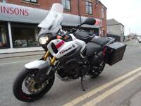2014 63 PLATE YAMAHA XT1200 WORLD CROSSER SUPER LOW MILEAGE