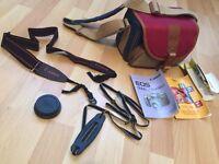 Camera shoulder case bag