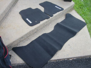 Dodge Ram 1500 Floor Mats 2012-18 - Carpeted, Black, 3-Piece