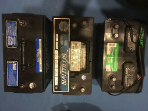 Group 31 Deep cycle batteries, great for Rv